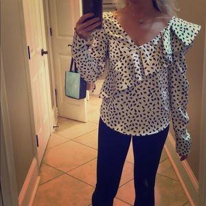 Self Portrait blouse. Size 4